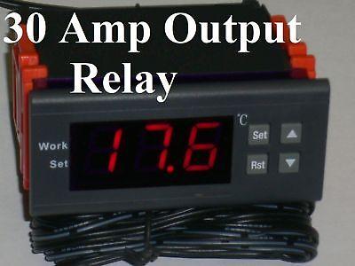 Temperature Controller Thermostat Fahrenheit 12V DC Builtin Relay Freezer Heater