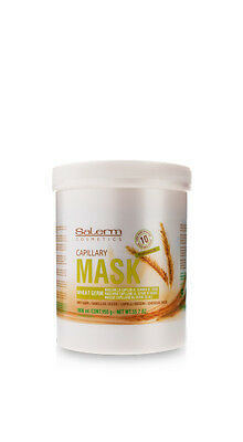Salerm Cosmetics Mascarilla Capilar Germen De Trigo 1000 ml / 33.7 oz