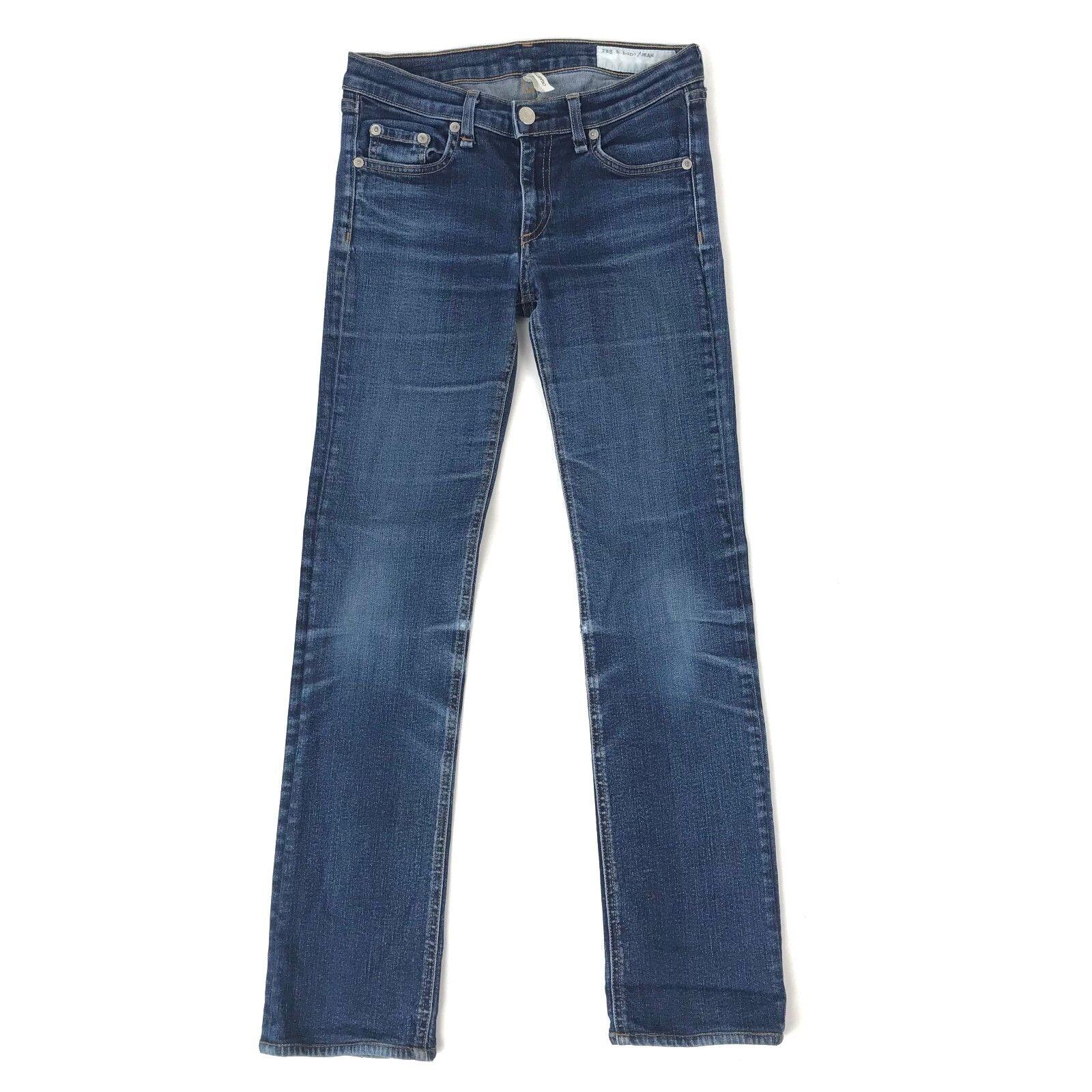 Rag and Bone Womens Cigarette Straight Leg Jeans size 26 W1508K520 Heritage