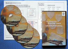 Binche Bobbin Lace Making Instructional DVD Set with Sally Schoenberg