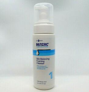 GALDERMA-BENZAC-ACNE-SOLUTIONS-Skin-Balancing-Foaming-Cleanser-6oz-Bottle-Step-1