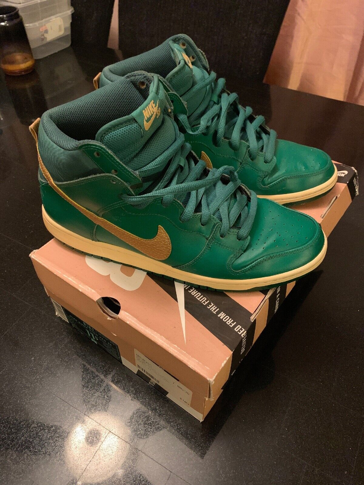 """Mens Nike SB Dunk High """"ST. PATTY'S DAY"""" DAY"""" DAY"""" 11.5 59a1c0"""