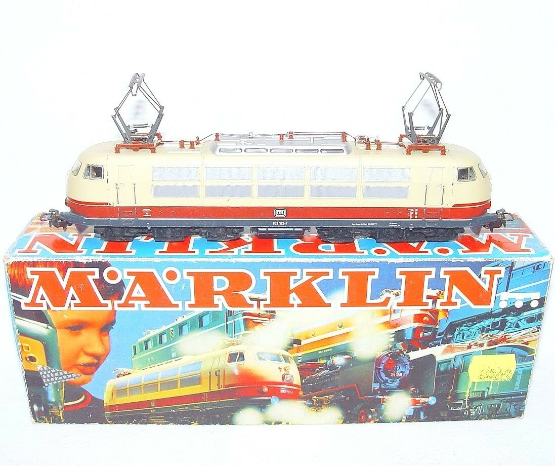 Marklin AC HO 1:87 German DB BR-103 TEE    EGGHEAD  ELECTRIC LOCOMOTIVE  1 NMIB`78 aad21c