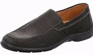 44 Elegante Pelle Taglia Und Chic Uomo 46 Nero Jomos Pantofola 45 41 305204 1RXFxq