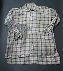 VTG French 1940 shirt patched Chore workwear faded Xlarge junya needles hobo cdg