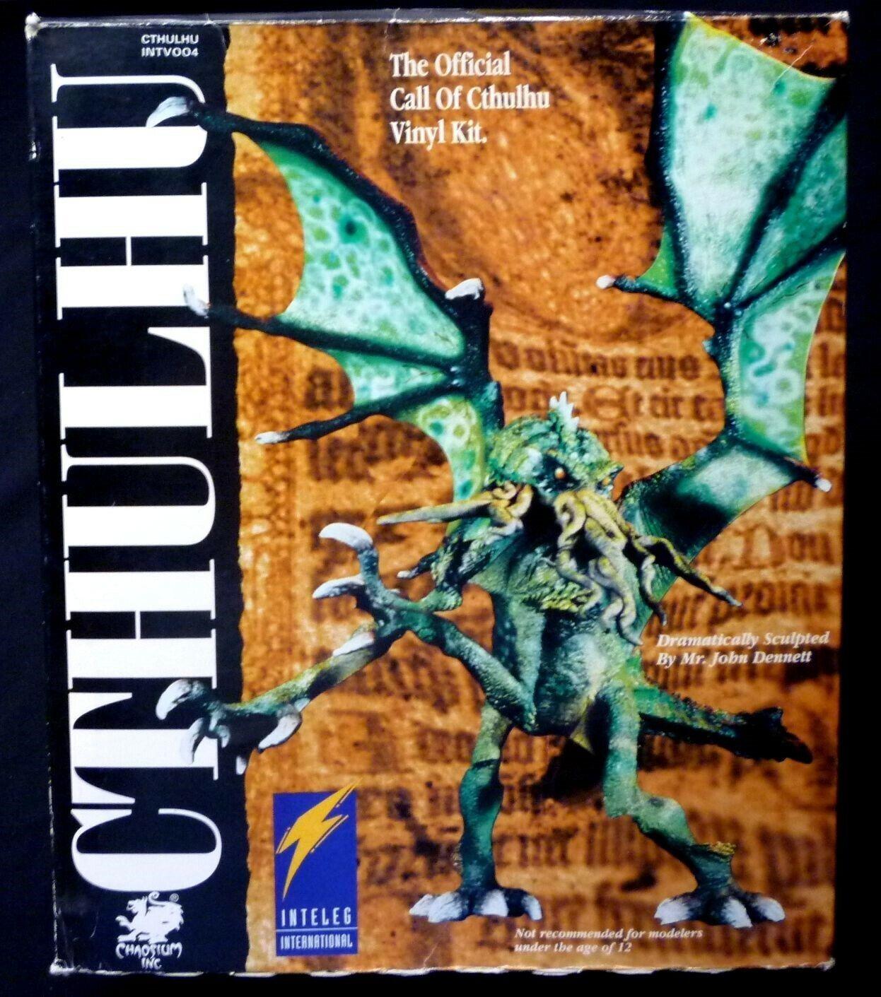 INTELEG John Dennett Call of Cthulhu Vinyle Cthulhu Model Kit