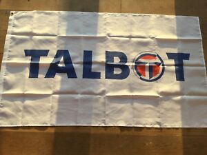 Talbot sunbeam horizon samba garage workshop flag banner