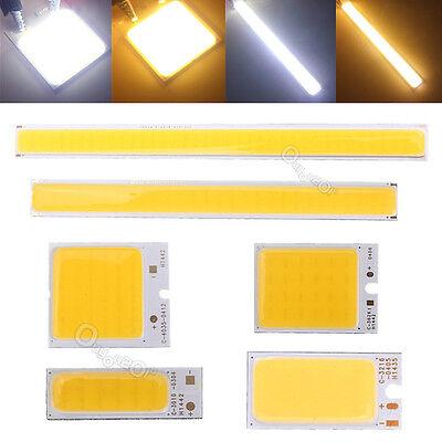 COB White LED Light Source Interior Exterior Lamp Chip DRL Fog Light 12V 1.8W-6W