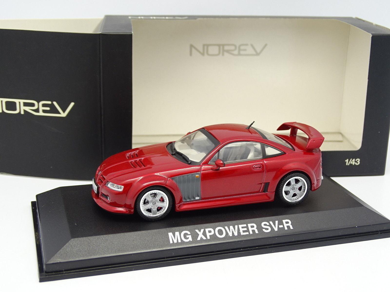 100% a estrenar con calidad original. Norev Norev Norev 1 43 - MG Xpower Svr Rojo  buen precio