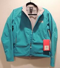 New with Tags Womens North Face Apex Bionic Jacket Jacuzzi Blue Medium Med
