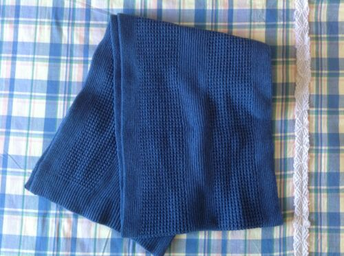Brand New Banana Republic Merino Wool Scarf Color Blue