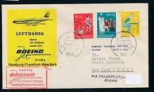 81976) LH FF Frankfurt - New York 17.3.60, SoU ab Niederlande MiF Voor..