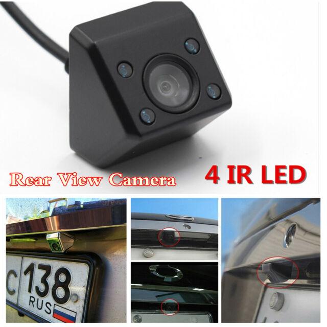 8 LED HD CCD Waterproof Car Rear View Reverse Backup Parking Camera Night Vision