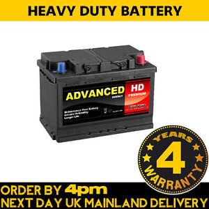 12 volt car battery 100 type 72ah 680cca diesel car van. Black Bedroom Furniture Sets. Home Design Ideas