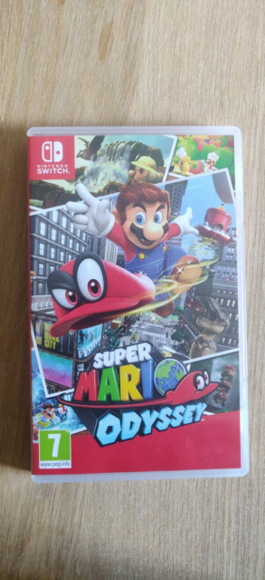 Super Mario Odyssey, Nintendo Switch, adventure, 300kr med…