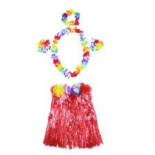 5b3ba1d8c0 Hawaiian Luau Party Grass Skirt Garland Headband Wristband 5pcs Hula ...