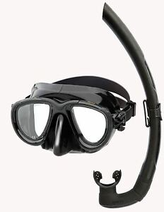 Mares-TANA-DUAL-LOW-VOLUME-Silicone-Mask-Snorkel-Set-Spearfishing-Snorkelling