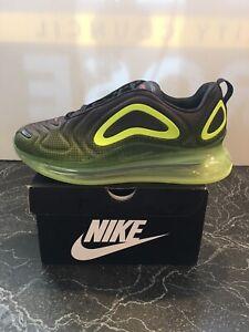 Details about Nike Air Max 720 Men's Shoes AO2924 008 BlackBright CrimsonVolt size 10