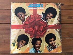 Jackson 5 Christmas.The Jackson 5 Christmas Album 1970 Motown Ms 713 Jacket