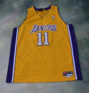 556993d024a Vintage Nike NBA Los Angeles Lakers Carl Malone #11 Jersey Size XL ...