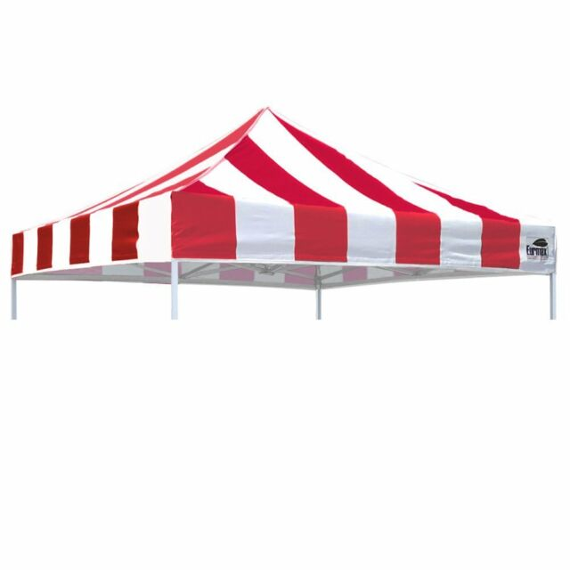 Caravan Canopy 8 x 8 Evo Shade Instant Canopy Grey Top//Orange Frame