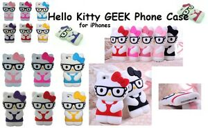 Hello Kitty 3D GEEK Cartoon Case Cover For IPHONE 4 5 C 6 Smart Phone amp Androids - <span itemprop='availableAtOrFrom'>Romford, Essex, United Kingdom</span> - Hello Kitty 3D GEEK Cartoon Case Cover For IPHONE 4 5 C 6 Smart Phone amp Androids - Romford, Essex, United Kingdom