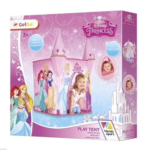Disney Prinzessin Pop Up Pink Schloss Zelt Neue Kinder 100% Offiziell