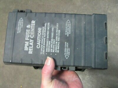 2002 dodge grand caravan fuse box 2001 2002 dodge grand caravan fuse relay box multifunction module  2001 2002 dodge grand caravan fuse