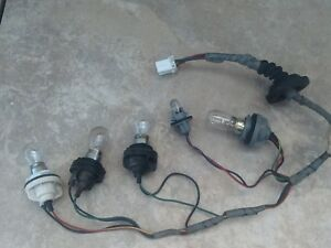 1996 ford PROBE tail light wiring HARNESS  R / L  EXC-condition  / BULBS