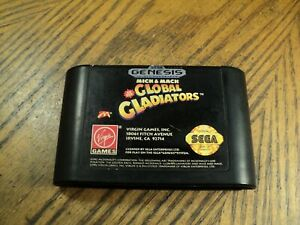 Mick & Mack Global Gladiators( Sega Genesis, 1992)  Cartridge Only