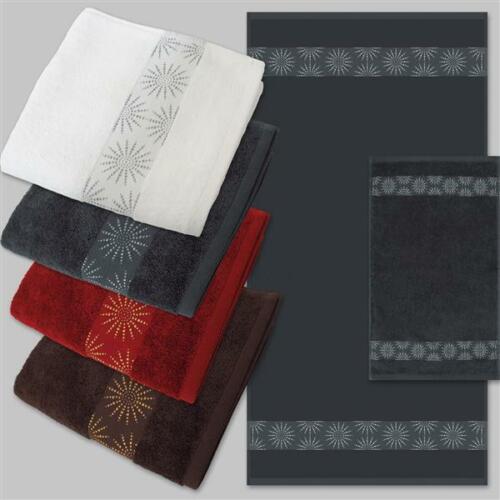 Serviette duschtuch gästetuch DYCKHOFF étoiles 430g//m² dans de nombreuses couleurs et tailles