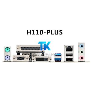 NEW IO I//O SHIELD back plate BLENDE BRACKET for ASUS H110-PLUS