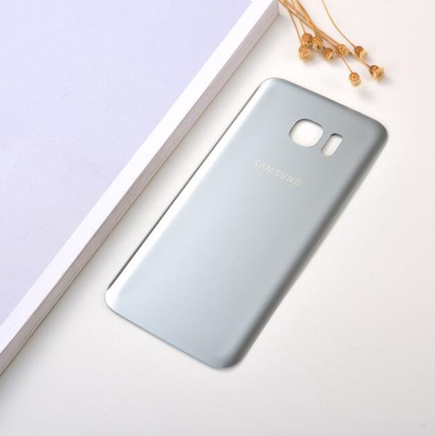 Cache Batterie Samsung Galaxy S 7 Edge - Argent