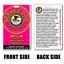 Service Dog Asclepius Medical Symbol ADA W// QR CODE hot pink Badge card ID
