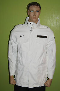 Nike M65 Veste Imperméable France Fff Sample Equipe Nationale Team Football | eBay