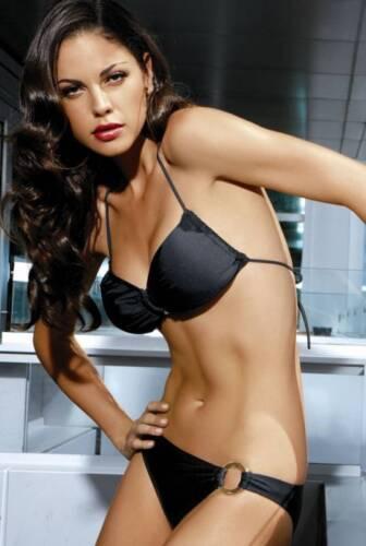 Elegantissimi /& alla moda a fascia-bikini she mod. Sonja tg Bianco 36-40 Nero
