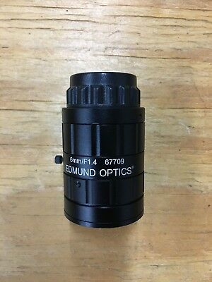 Edmund Optics 16mm EO Megapixel Fixed FL Lens 59870 for sale online