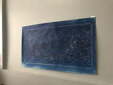 Star Map Moon Mid Century Modern Meditative Minimal