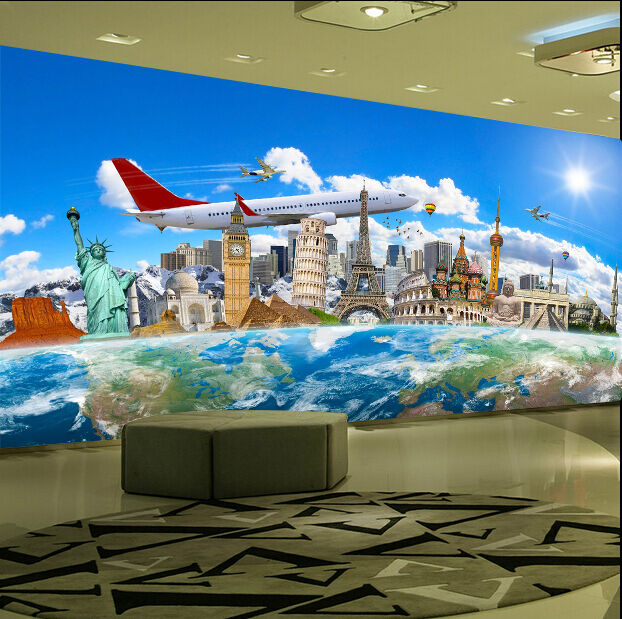 3D Scenic Spots 481 WallPaper Murals Wall Print Decal Wall Deco AJ WALLPAPER