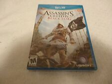 Assassin's Creed 4 IV Black Flag Video Game Wii U New Sealed Free Shipping