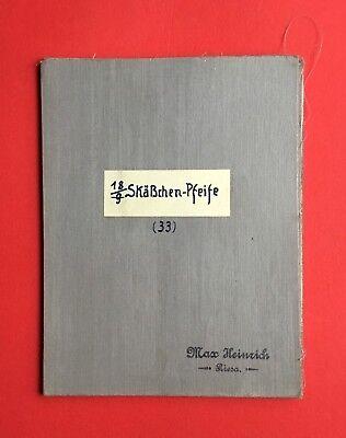 Sonnig Meßtischblatt Nr. 18. SkÄßchen Pfeife Von 1906 Auf Leinen Maßstab 1 : 25000( M35 NüTzlich FüR äTherisches Medulla