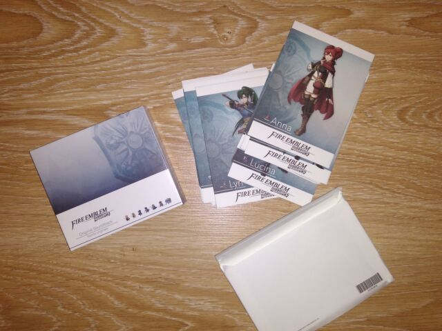 Fire Emblem Warriors Switch Soundtrack + Cards Limited Edition (no game) NEW