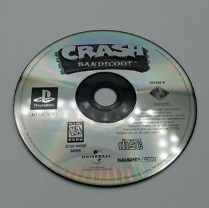 SONY PlayStation PS1 PSOne Crash Bandicoot (GAME DISC ONLY)