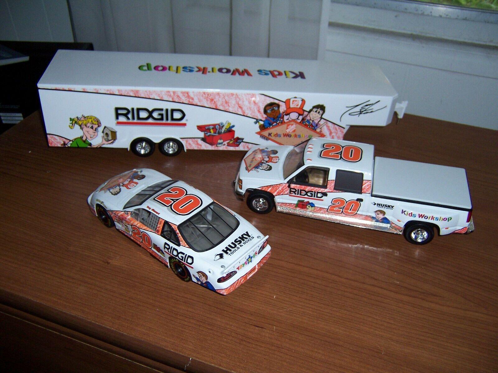 1999 Tony Stewart Rookie Home Depot Kids Workshop Brookfield Collection