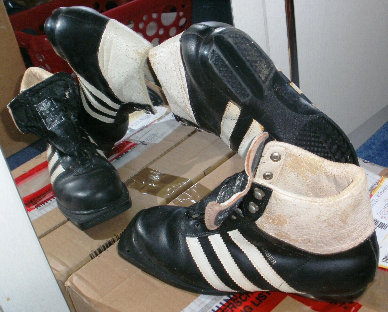 Neuwertige Adidas Ski-Langlauf-Stiefel Arber Vintage Selten, Gr. 7,5 = 41,5