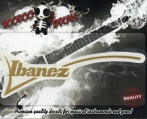 Ibanez RG Custom Guitar Headstock Vinyl Decal EBay - Custom vinyl decals for guitars
