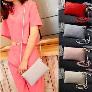 New-Women-Shoulder-Bags-Satchel-Handbag-Leather-Mini-Cross-Body-Messenger-Bag