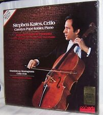 Stephen Kates RACHMANINOFF: Sonata Sonic Arts Laboratory Series 26 Deluxe Box LP