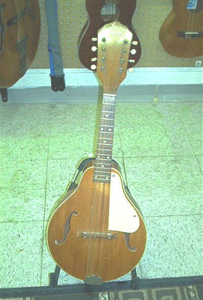 1950's A-Style Kay Mandolin, Solid Spruce Top, Mahagoni Body, Mahogany Neck