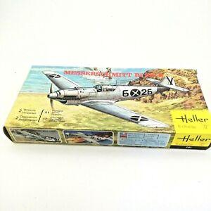 Heller-German-Fighter-Avion-Messerschmitt-BF109B-1-72-scale-Model-Kit-101